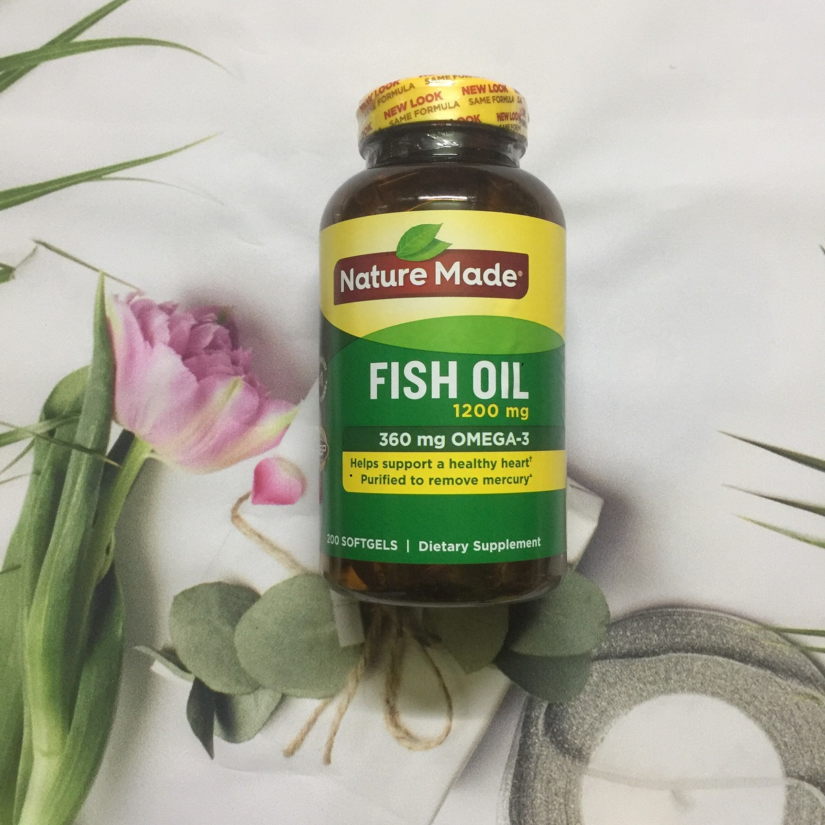 Dầu cá Omega 3 - Nature Made Fish Oil 1200mg