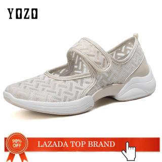 Giày YOZO Cho Nữ Giày Cho Người Già Mới Giày Nữ Giày Cho Mẹ Giày Chống Trượt Giày Đế Bằng Cho Nữ Giày Nữ Thoáng Khí Giày Cho Mẹ Nhẹ Thoải Mái