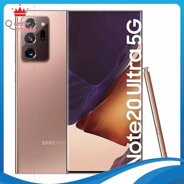 [Trả góp 0%]Điện thoại Samsung Galaxy Note 20 Ultra 5G - Hàng chính hãng.
