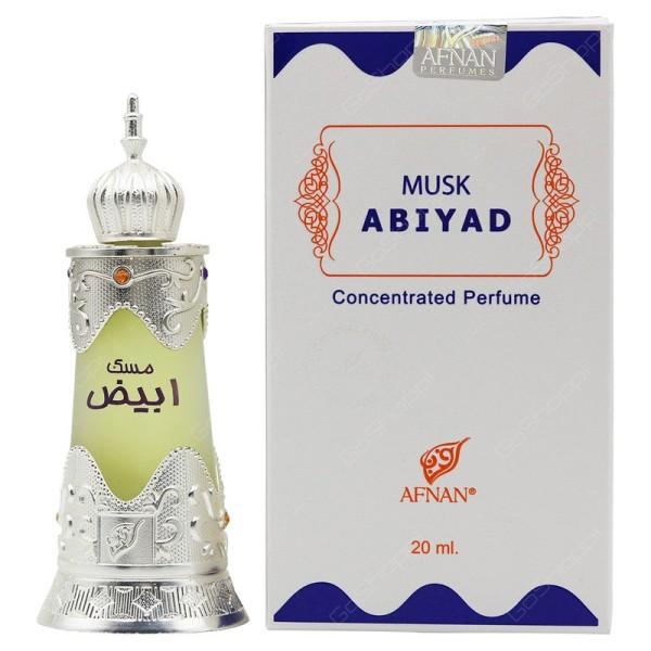 Tinh dầu nước hoa Dubai Musk Abiyad 20ml mát mẻ trẻ trung