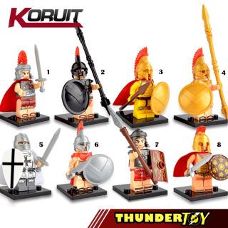 Đồ chơi lắp ráp Mini Figure nhân vật lính la mã thumbnail