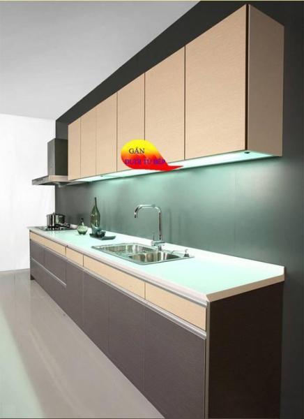 Đèn cảm ứng vẫy tay lắp tủ bếp dài 600mm bóng led 11w kèm nguồn 12V 2A sáng ấm