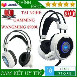 Tai Nghe Chụp Tai Có Dây Wang Ming 8900L - Tai Nghe Gaming Chuyên Game Có Led Có Mic Với Âm Thanh Vòm 7.1 giúp bạn có thể tận hưởng âm thanh một cách trọn vẹn thumbnail
