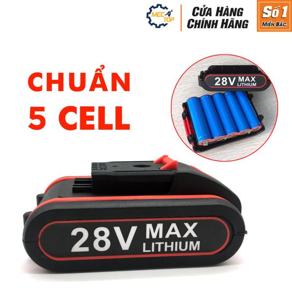 PIN MÁY KHOAN CẦM TAY HITACHI 28V ĐỎ -Khoan HITACHI 3 chức năng - Pin 5 cell 2400mAh