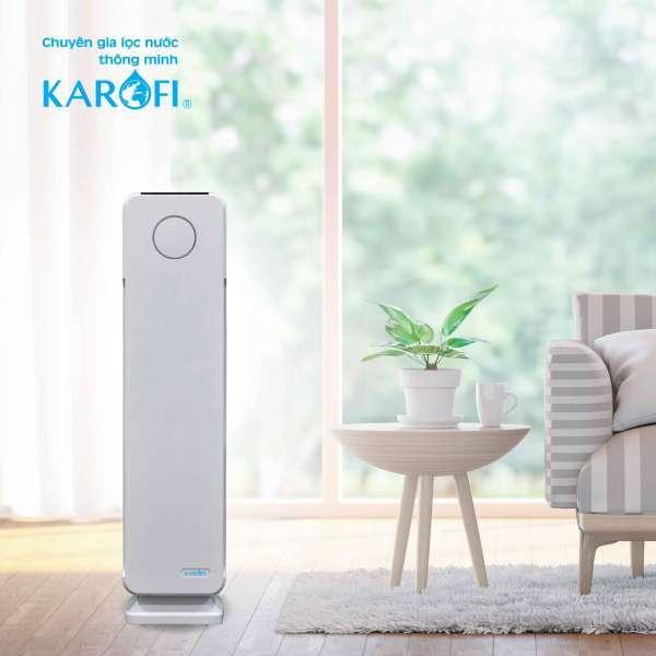 Máy lọc không khí Karofi KAP-115, Hiển thị chất lượng không khí, Cảnh báo thay màng lọc, Chế độ ban đêm tiết kiệm điện, Thiết kế tinh tế, trang nhã phù hợp với mọi không gian