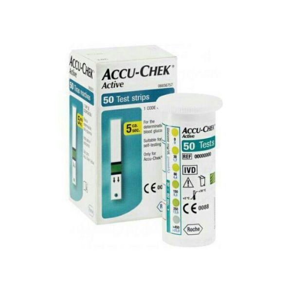 Que thử đường huyết Accu-check active (hộp 50 que), cam kết hàng đúng mô tả, sản xuất theo công nghệ hiện đại, an toàn cho người sử dụng bán chạy