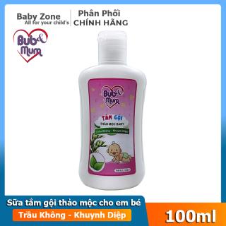 Sữa tắm dầu gội toàn thân , không cay mắt cho bé BuB&MuM thumbnail