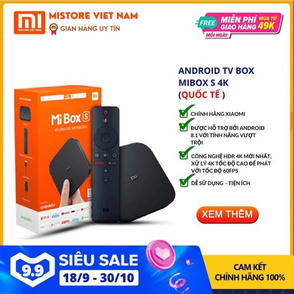 Bảng giá 【FREESHIP XTRA】[QUỐC TẾ - TIẾNG VIỆT] Android Tivi Box Xiaomi Mibox S 4K bản Quốc Tế (Android 9.0) CHÍNH HÃNG XIAOMI - Mistore Việt Nam