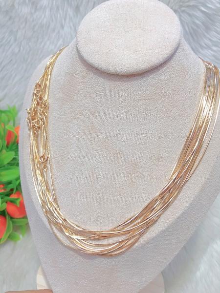 Mặt dây chuyền nữ (có bán kèm dây đeo-khách vui lòng mua thêm dây nếu có nhu cầu) mạ vàng thật 18K JK Silver cao cấp giá rẻ U.daychuyen259