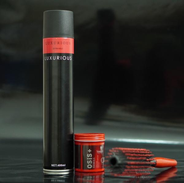 Sáp vuốt tóc🎁Freeship + TẶNG LƯỢC🎁 COMBO sáp vuốt tóc Osis Thrill & Gôm xịt tóc + Tặng lược tạo kiểu - Keo vuốt tóc & Wax vuốt tóc giá rẻ