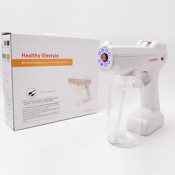 Máy phun sương khử trùng NANO Cầm tay tiệt trùng diệt khuẩn bằng tia UV diệt khuẩn 99%
