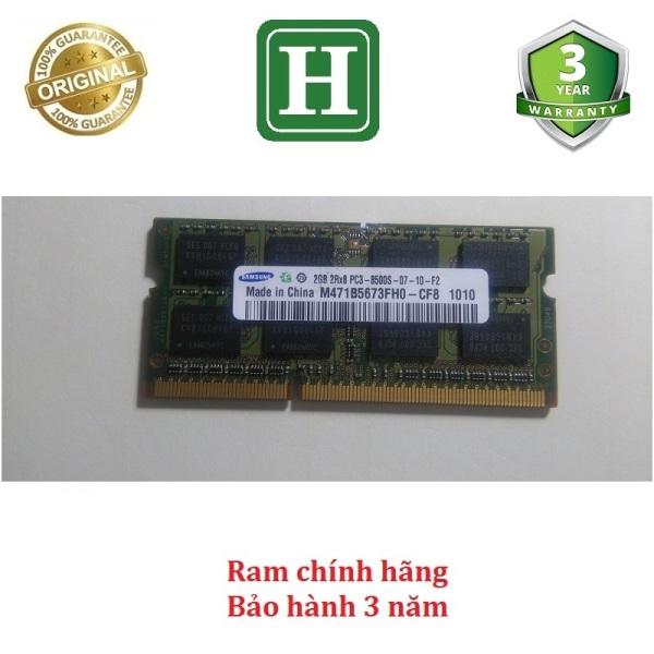 Bảng giá Ram Laptop DDR3 2Gb bus 1066 - 8500s bảo hành 3 năm Phong Vũ