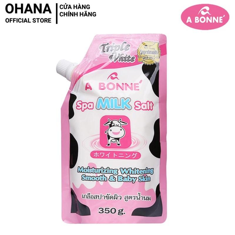 Muối tắm sữa bò tẩy tế bào chết A Bonne Spa Milk Salt Thái Lan 350gr tốt nhất