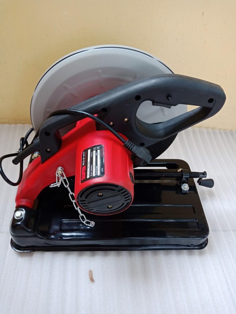 Máy cắt sắt bàn - máy cắt sắt bàn THÁI LAN - SUPER 2000 P0870_tặng kèm lưỡi 355 theo máy - Máy cắt sắt