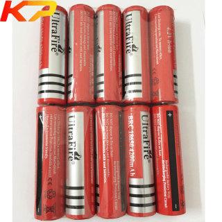 10 viên Pin sạc 18650 Ultra Flrc 4.2V 4200mah thumbnail
