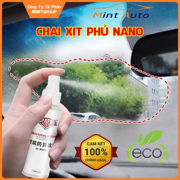 Chai xịt phủ nano chống nước cho kính lái, gương chiếu hậu CarPro M-8008 dung tích 100ml