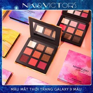 Bảng phấn mắt 9 màu Maringdo dạng nhũ lấp lánh, eye shadow thumbnail