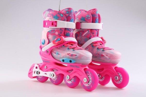 Phân phối Giày trượt Patin C3 Cao cấp cho bé chính hãng TẶNG BẢO HỘ CHÂN TAY GỐI - Hồng VÀ XANH