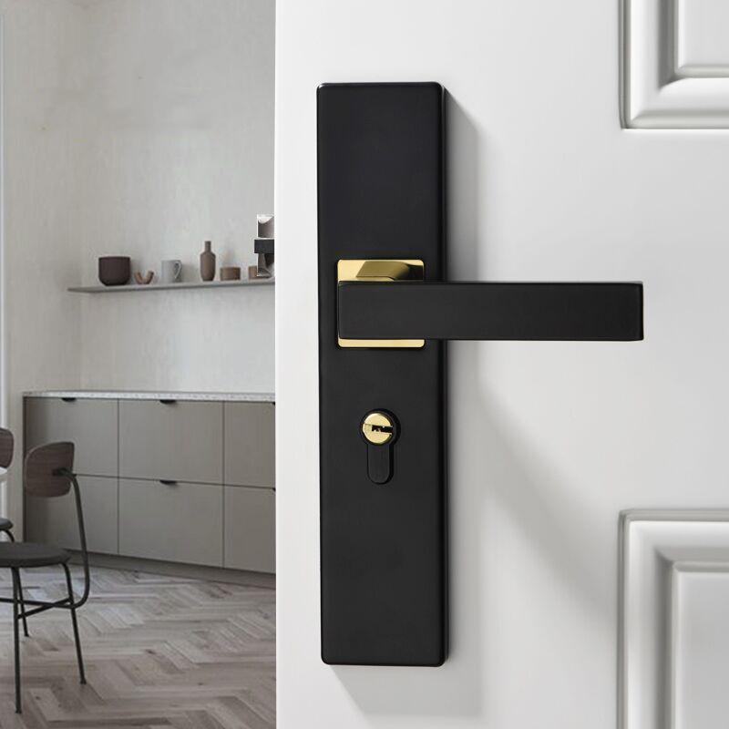 Khóa cửa tay gạt sang trọng cao cấp - Bảo hành 12 tháng - Lắp đặt dễ dàng - Mẫu mã sang trọng - Ổ khóa chống trộm - Không ồn - Chống mài mòn