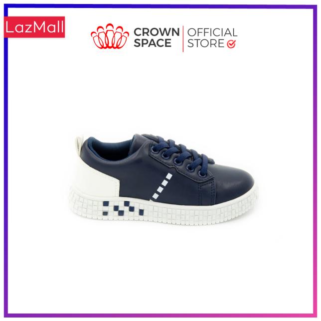 Giày Sneaker Bé Trai Bé Gái Đi Học Cổ Thấp Crown Space UK Active Trẻ em Cao Cấp CRUK253 Siêu Nhẹ Êm Size 28-36/2-14 Tuổi giá rẻ