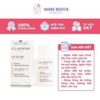 Kem Chống Nắng Clarins UV Plus Anti-Pollution SPF50 PA++++ Translucent 50ml Trắng thumbnail