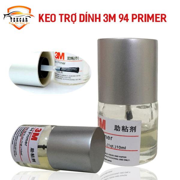 Keo trợ dính 3M 94 Primer 10ml, keo mồi chất dung môi tăng bám tăng độ kết dính cho băng 2 mặt hỗ trợ dán phụ kiện xe, keo nước tăng dính 3m94