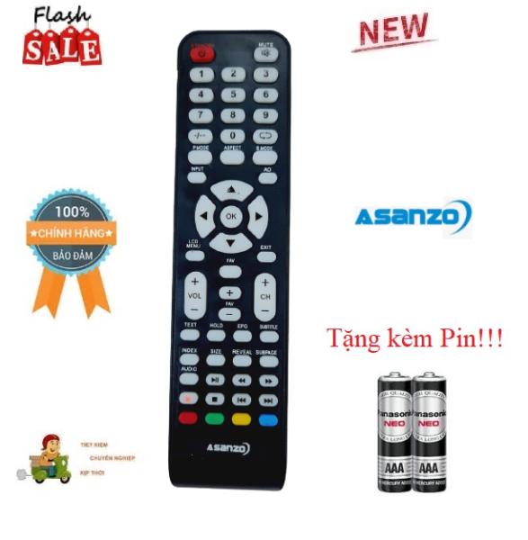 Bảng giá Remote Điều khiển TV Asanzo LCD/LED/Smart TV- Hàng mới chính hãng 100% Tặng kèm Pin!!!