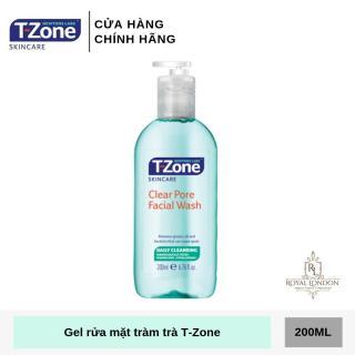Gel Rửa Mặt Làm Sạch Sâu, Kháng Khuẩn Tinh Chất Tràm Trà T-Zone Clear Pore Facial Wash 200ml thumbnail