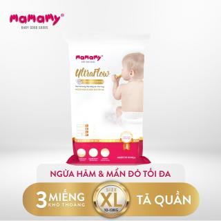 Combo 3 miếng tã quần Mamamy Ultraflow Size XL thumbnail