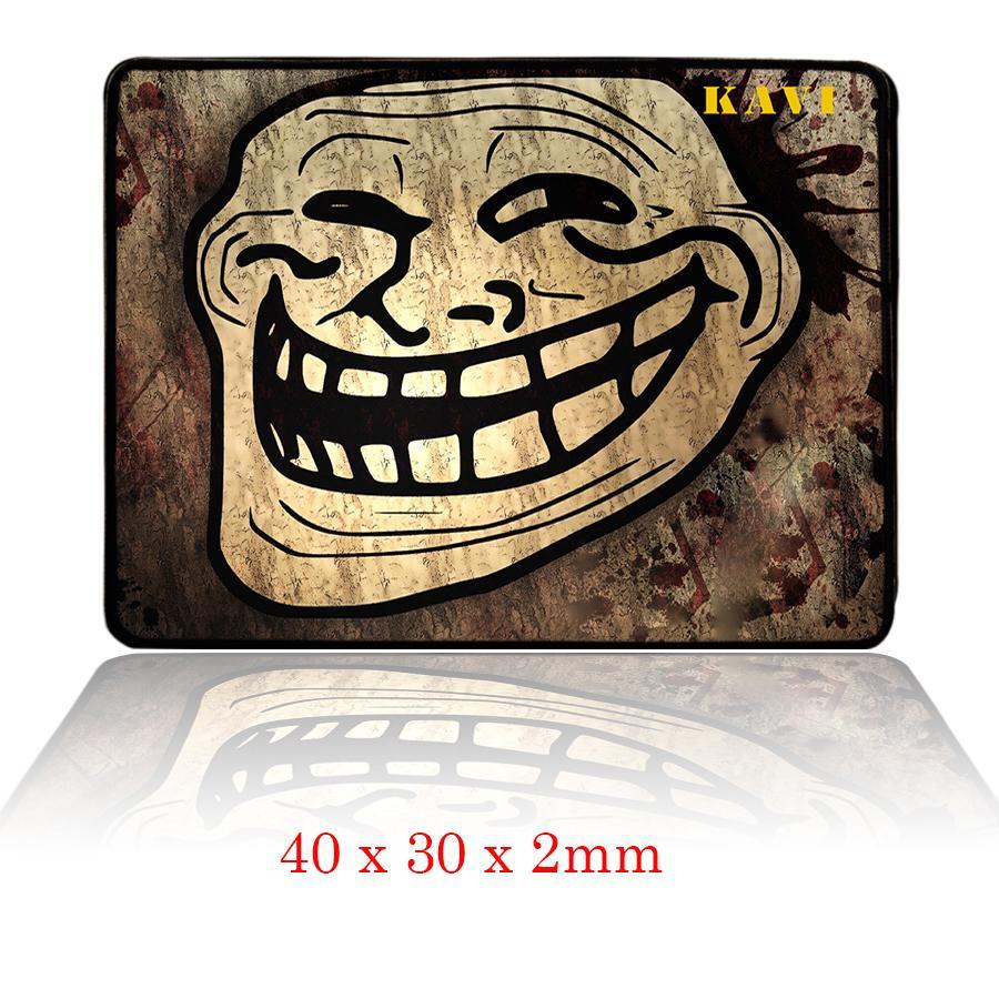Tấm Lót Chuột Chơi Game Troll-Face (40x30) By Đồ Game Thủ.