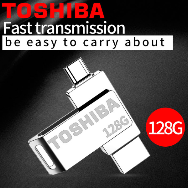 Bảng giá Original Brand USB Flash Drive 128GB/64GB OTG Metal USB 3.0+ Type C Pendrive Stick Phong Vũ