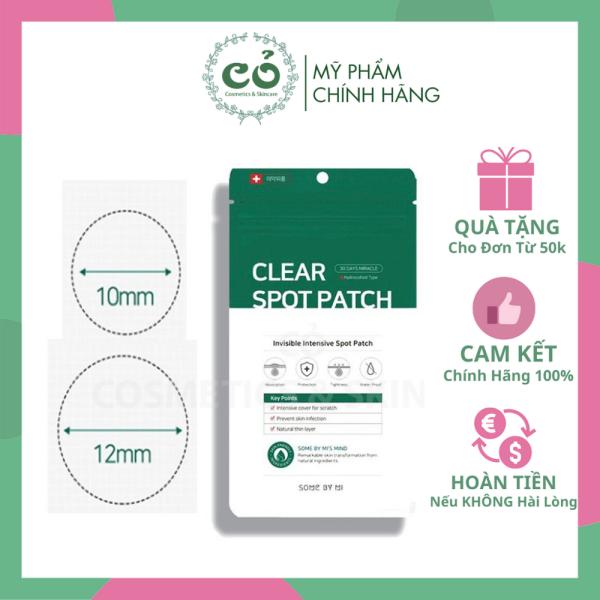 [HCM]Miếng Dán Giảm Mụn Some By Mi Clear Spot Patch Set 18 Miếng nhập khẩu