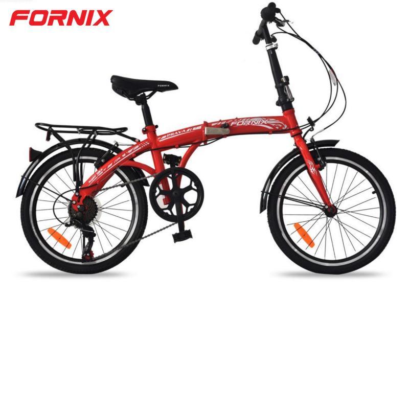 Phân phối Xe đạp gấp Prava màu ĐỎ
