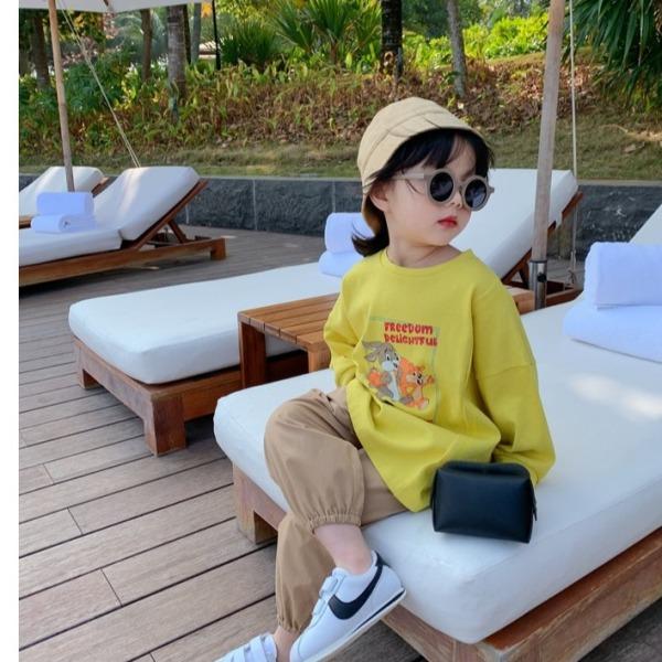 Giá bán [Hàng xịn] Kính thời trang mặt tròn an toàn cho bé từ 1 đến 6 tuổi,kính chống nắng, kính râm cho bé chống bụi chống tia UV400- mã 1593