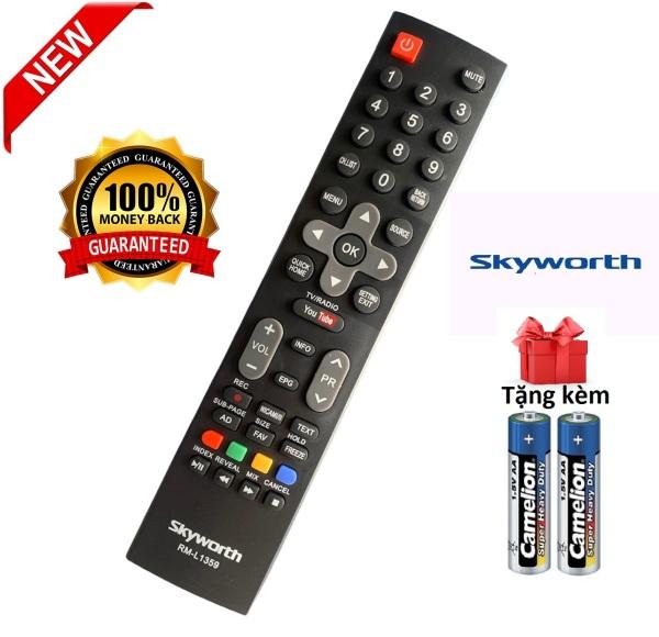 Bảng giá Điều khiển tivi Skyworth RM-L1359 remote skyworth - Hàng tốt [ tặng kèm pin ]
