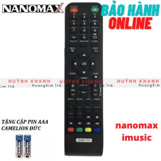 REMOTE TV NANOMAX SMART TV IMUSIC BỀN ĐẸP CHÍNH HÃNG thumbnail