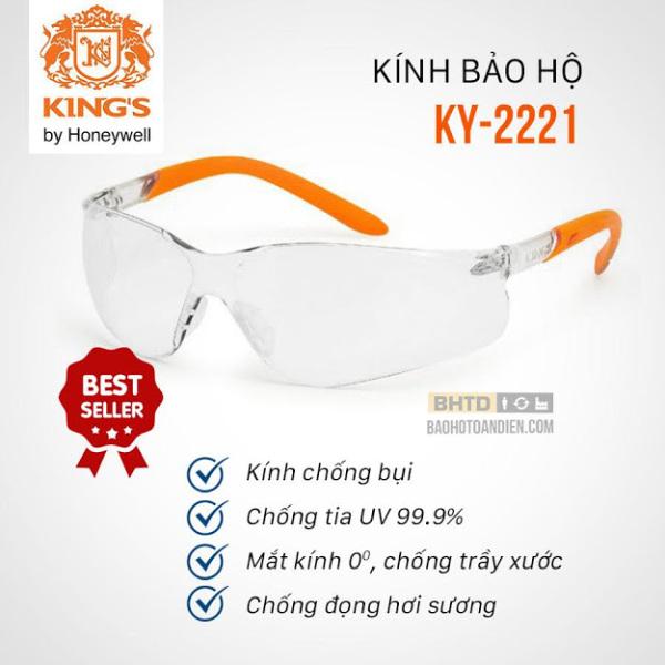 Giá bán Kính bảo hộ chống bụi nhập khẩu King KI 2221 (Thương hiệu Mỹ)