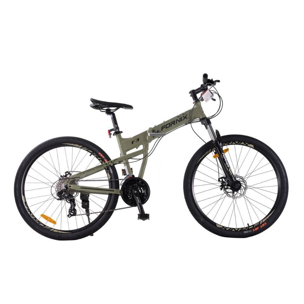 Mua Xe đạp gấp địa hình F3 màu xám