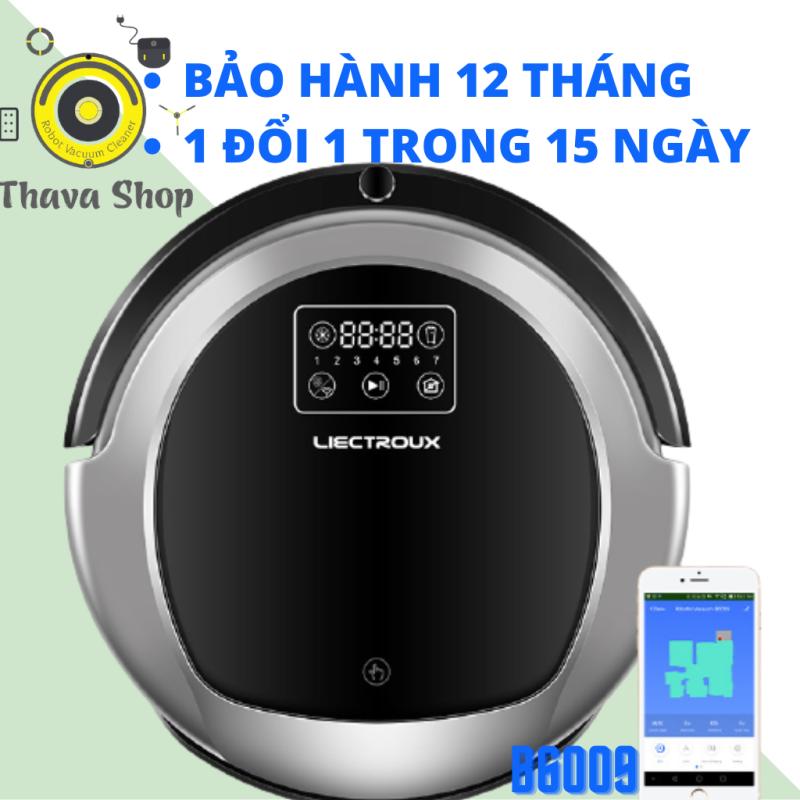 #ThaVa Robot Hút Bụi Lau Nhà Tự Động Liectrox B6009