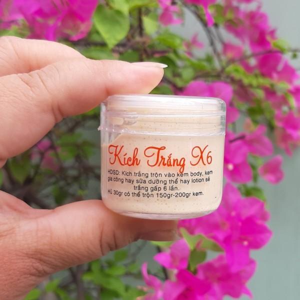 1 hủ Kem trắng trộn với kem Body hay sữa dưỡng thể giúp da trắng sáng không ăn nắng an toàn phù hợp với nhiều loại da giá rẻ