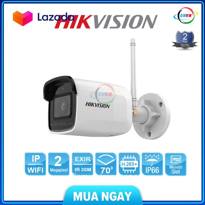 Camera IP 2MP Hikvision DS-2CD2021G1-IDW1 H.265+