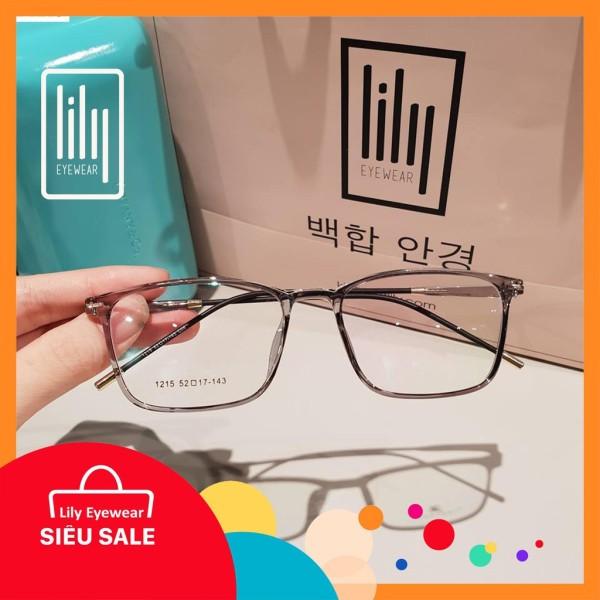 Giá bán [Lấy mã giảm thêm 30%]Gọng Kính Cận BBR1215-Gọng Kính Mắt Vuông- Gọng Kính Cận Đẹp-Gọng Kính Cận Unisex-Gọng Kính Thời Trang-Lily Eyewear