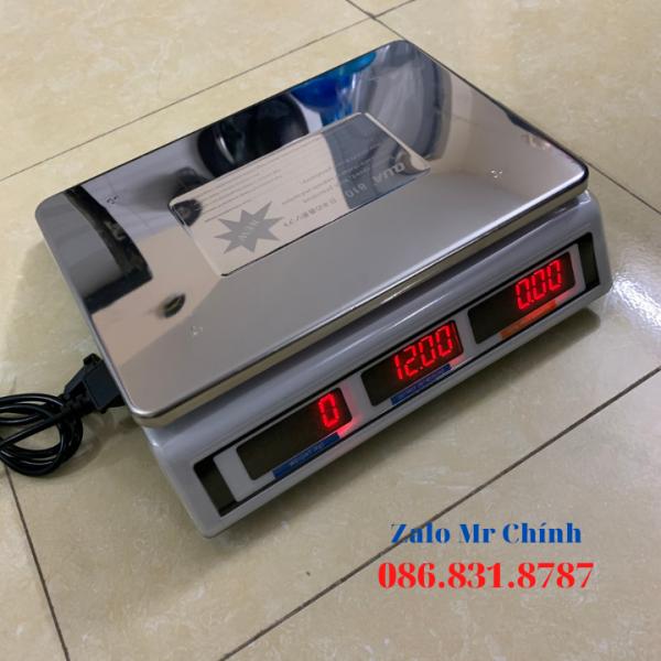 [Lấy mã giảm thêm 30%]Cân điện tử tính tiền 30kg/100gam QUA 810 ĐÀI LOAN - cân điện tử tính tiền - BH 24 THÁNG