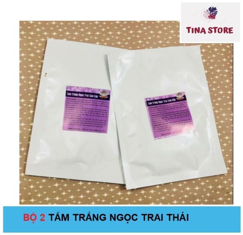 Bộ 2 Tắm Dưỡng Ngọc Trai Cao Cấp Thái Lan nhập khẩu