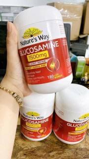 Viên uống bổ khớp của Úc Nature s Way Glucosamine Joint Repair 1500mg 200 viên thumbnail