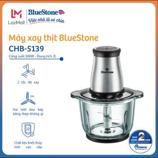 Máy Xay Thịt BlueStone CHB-5139 (2L) - 2 Lưỡi Dao Kép - Cối thủy tinh chịu nhiệt cao cấp - Công suất mạnh mẽ 300W - Bảo hành 24 tháng - Hàng Chính hãng thumbnail