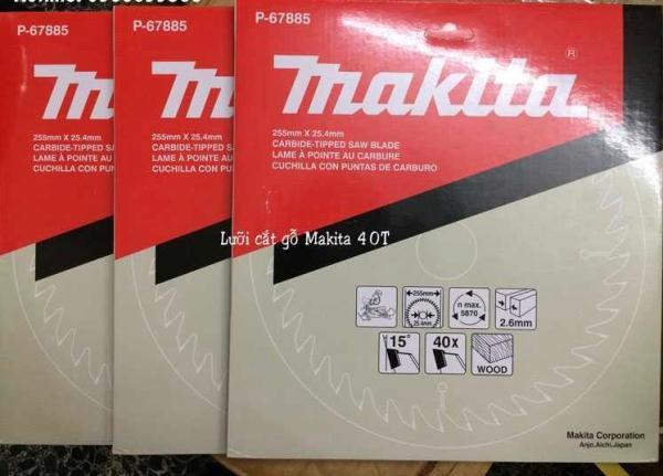 Lưỡi cưa gỗ hợp kim makita P-67885