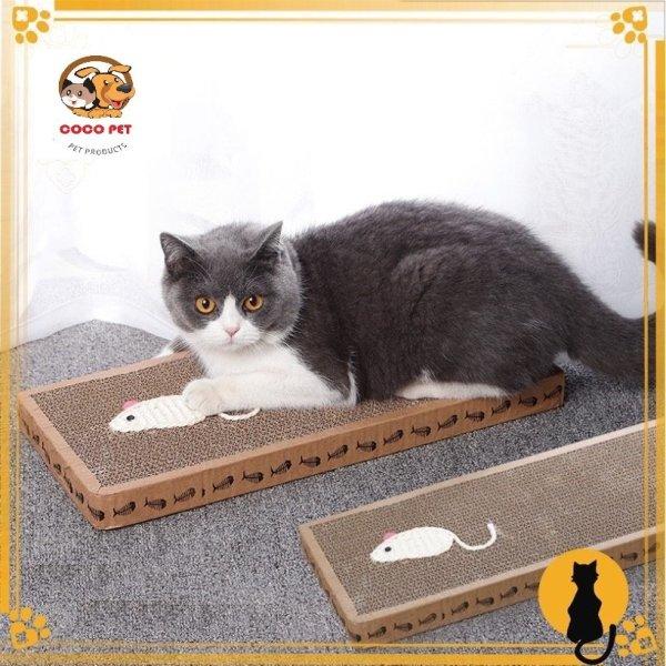 Bàn Cào Móng Cho Mèo Thiết Kế Trang Trí Hình Chuột/ Cá Dễ Thương