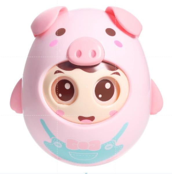 lật đật chú heo đồ chơi tinh nghịch chớp mắt có chuông nhẹ nhàng cho bé yêu