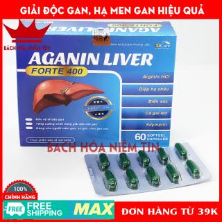 Viên uống bổ gan AGANIN LIVER - Hộp 60 viên tăng cường chức năng gan, giải độc gan, thanh nhiệt cơ thể thumbnail